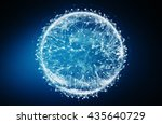 modern digital world data... | Shutterstock . vector #435640729