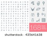 set of beauty  wedding and... | Shutterstock .eps vector #435641638
