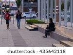 berlin  germany   may 11  2016  ... | Shutterstock . vector #435642118