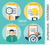 business evaluation concepts | Shutterstock .eps vector #435650860