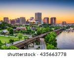 richmond  virginia  usa... | Shutterstock . vector #435663778