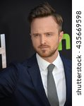 "Small photo of LOS ANGELES, CA - MARCH 21, 2016: Actor Aaron Paul at the premiere for the Hulu original TV series ""The Path"" at the Arclight Theatre, Hollywood."