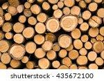 wood piles background | Shutterstock . vector #435672100