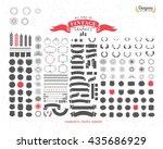 152 premium design elements.... | Shutterstock .eps vector #435686929