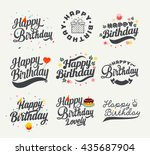 Vintage Happy Birthday...