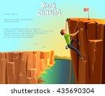 rock climbing boy. beautiful...