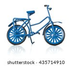 Metal Blue Miniature Bicycle O...