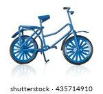 Metal Blue Miniature Bicycle O...