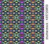 bright colored seamless pattern ... | Shutterstock .eps vector #435720853