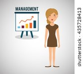 human resources design. person...   Shutterstock .eps vector #435728413