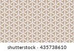 seamless beige isometric... | Shutterstock .eps vector #435738610