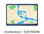 map set | Shutterstock .eps vector #435740698