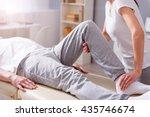 modern rehabilitation... | Shutterstock . vector #435746674