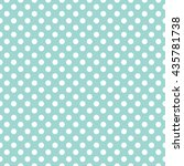 seamless polka dots pattern... | Shutterstock .eps vector #435781738