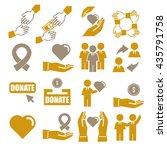 assist  help  kindness icon set