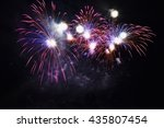 Beautiful Colorful Fireworks O...