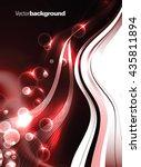 abstract shiny vector...   Shutterstock .eps vector #435811894