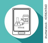 medical care design. health... | Shutterstock .eps vector #435824560