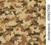 camouflage military fashion... | Shutterstock .eps vector #435827500