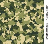 camouflage military fashion... | Shutterstock .eps vector #435827584