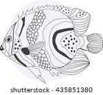 fish | Shutterstock .eps vector #435851380