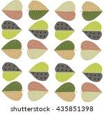 the group of leaves   Shutterstock .eps vector #435851398