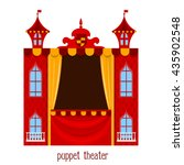 Puppet Show. Illustration Of...