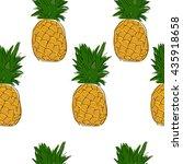 seamless background pattern... | Shutterstock .eps vector #435918658