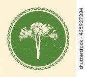 vector tree illustration     Shutterstock .eps vector #435927334