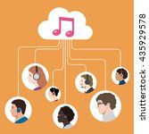 music streaming service image ...