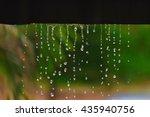 rain drops fall continuously...