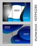 brochure design template  | Shutterstock .eps vector #435942280