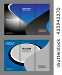 tri fold brochure  | Shutterstock .eps vector #435942370