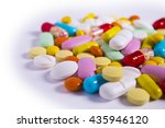 Medicine Colorful Vitamins ...
