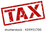 tax stamp.stamp.sign.tax. | Shutterstock .eps vector #435951700
