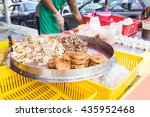 Vendor Selling Cuisine At...