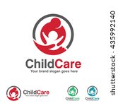 child care logo  mother and kid ...