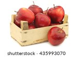 fresh and delicious red...   Shutterstock . vector #435993070