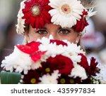 madeira flower festival  festa... | Shutterstock . vector #435997834
