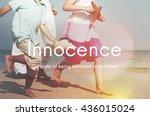 innocence naive innocent kids...   Shutterstock . vector #436015024