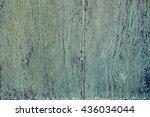 old green painted wood door   Shutterstock . vector #436034044