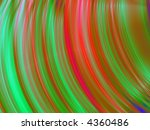 fractal rendition of colored
