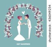 wedding. wedding. wedding....   Shutterstock .eps vector #436049254