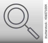 search vector icon illustration