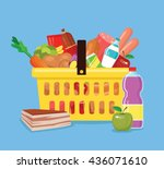 Food Basket. Fresh Food In...