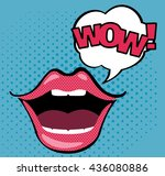 Open Mouth With Wow Speech...