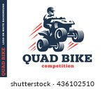 Quad Bike Competition. Logo...