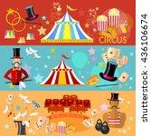 circus banner circus... | Shutterstock .eps vector #436106674
