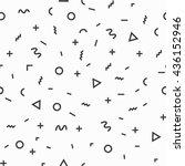 geometric vector pattern ...   Shutterstock .eps vector #436152946