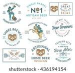 illustrations celebrating... | Shutterstock .eps vector #436194154